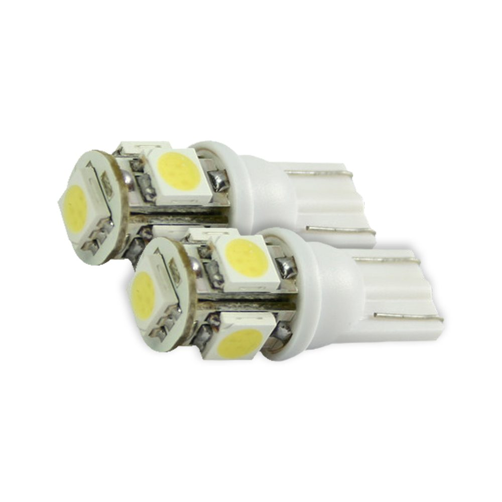 194/168 360 Degree Amber LED Bulbs