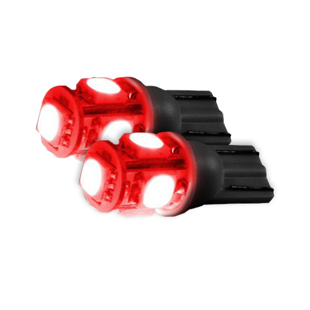 194/168 360 Degree RED LED Bulbs