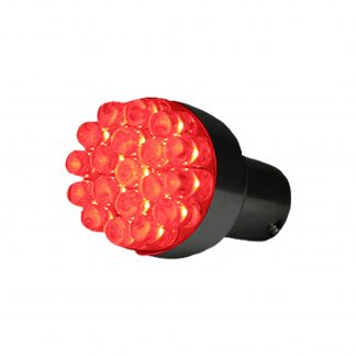 1157 (19 L.E.D.'s) Unidirectional RED L.E.D. Bulb