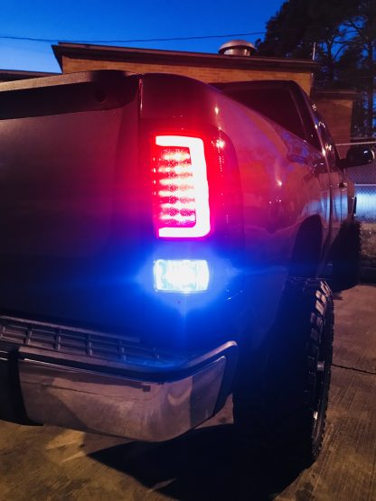 GMC Sierra 07-13 Tail Lights OLED in Smoked
