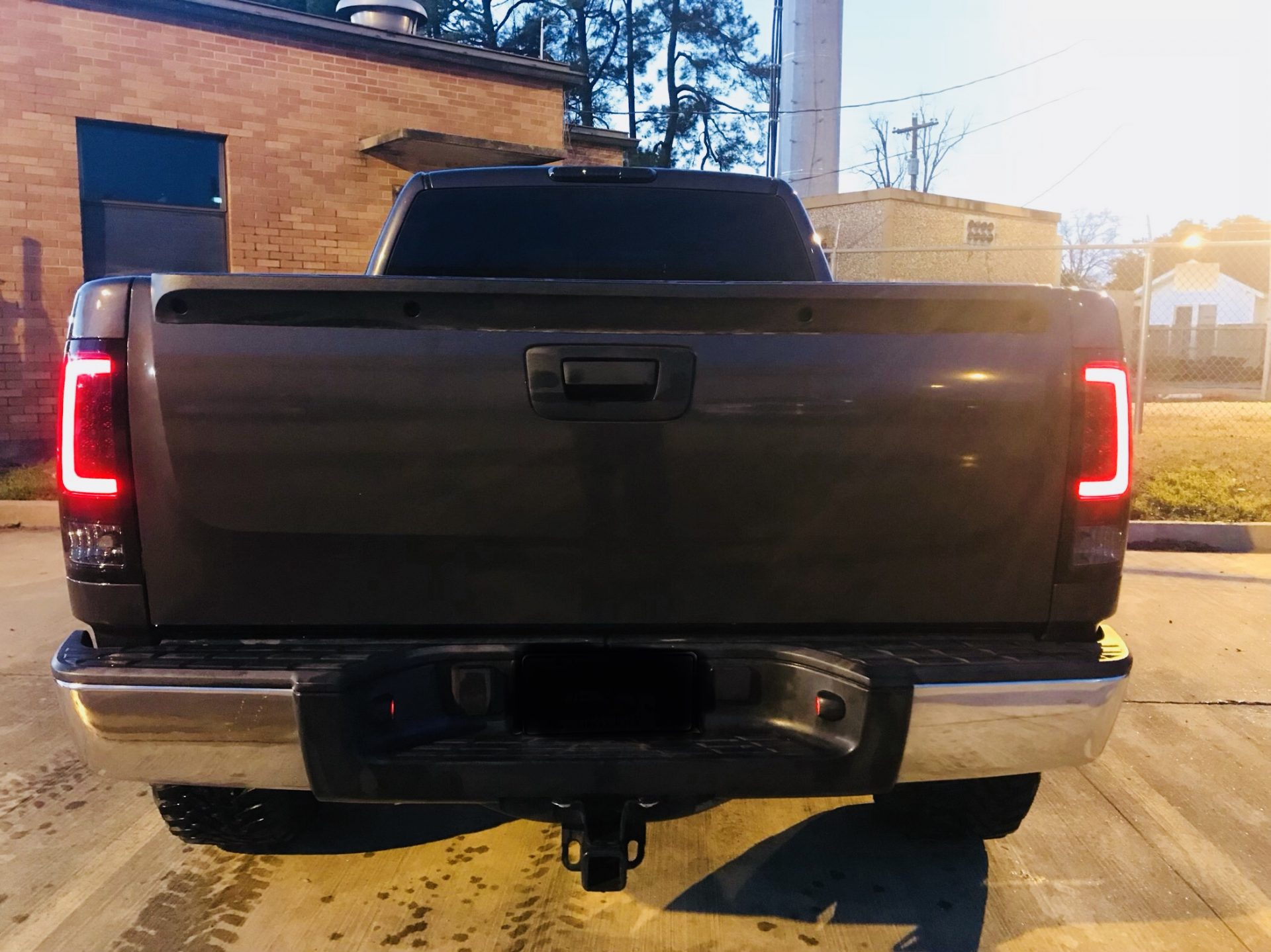 Clear Lens   After Market OLED Tail Lights   GMC Sierra 07-13   RECON   RECON Truck Accessories