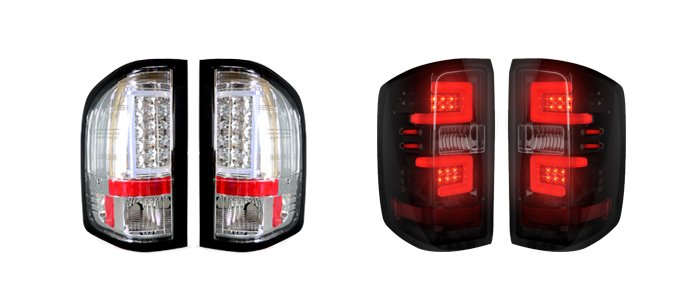 Chevy Truck LED Tail Lights