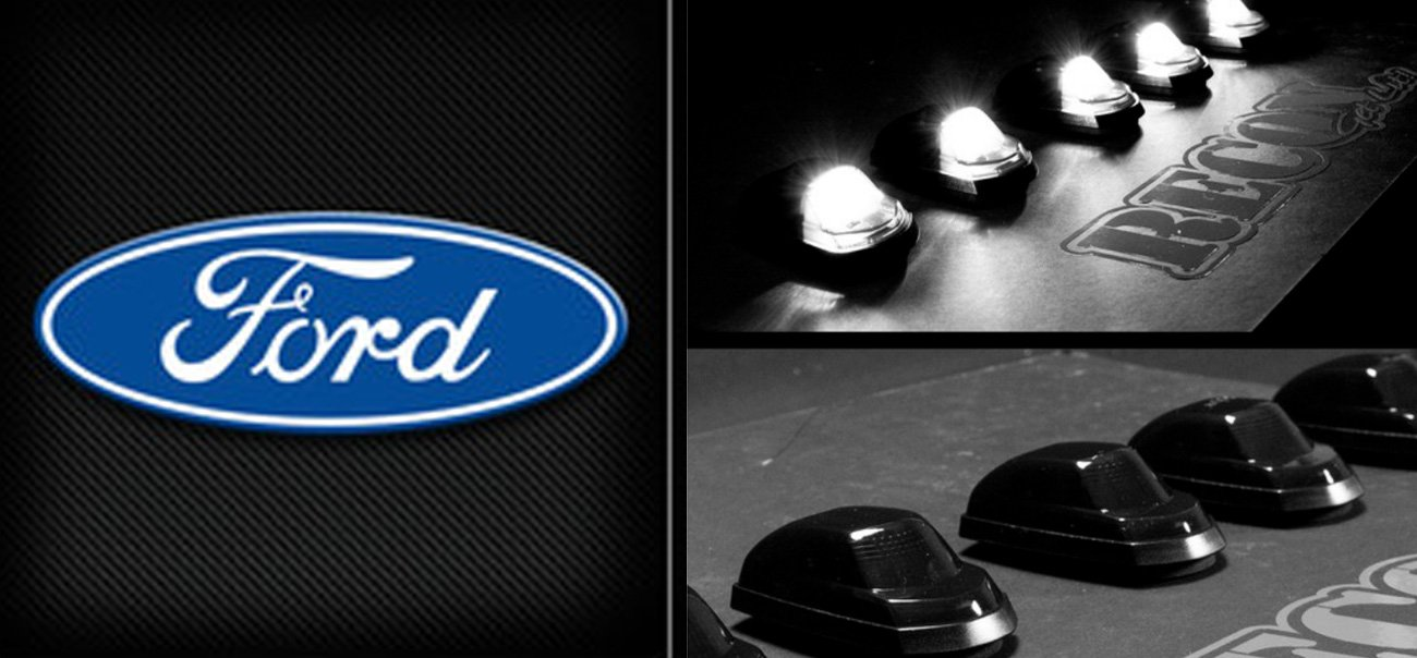 Ford 99 18 Cab Roof Lights And Led Bulbs