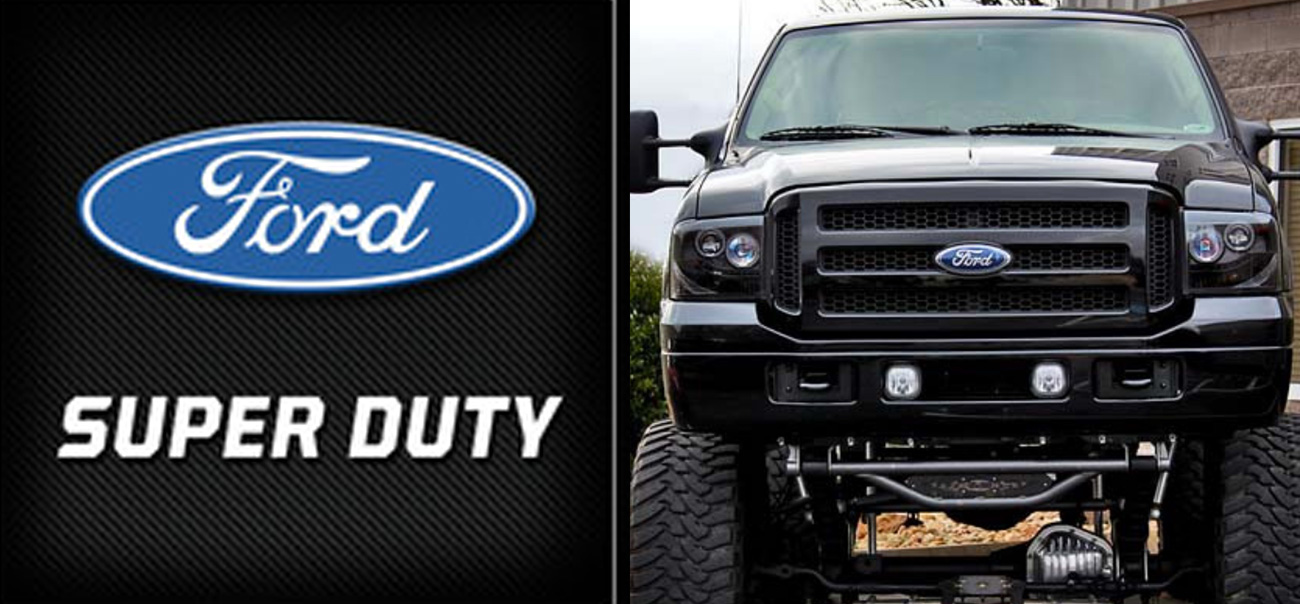 ford superduty projector headlights