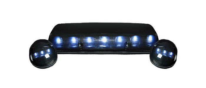 aftermarket GMC LED Cab Roof Lights