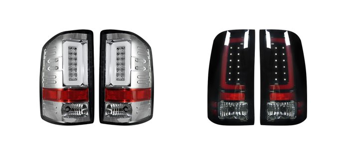 aftermarket LED Tail Lights for GMC truck