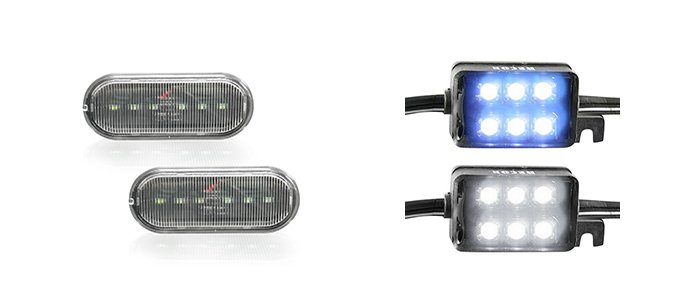 RECON Chevy LED Bed Light accessory
