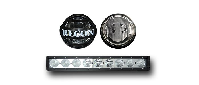 RECON LED Driving Lights / DRL Chevy Truck Accessory