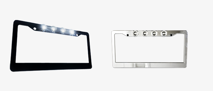 RECON Truck License Plate Frames