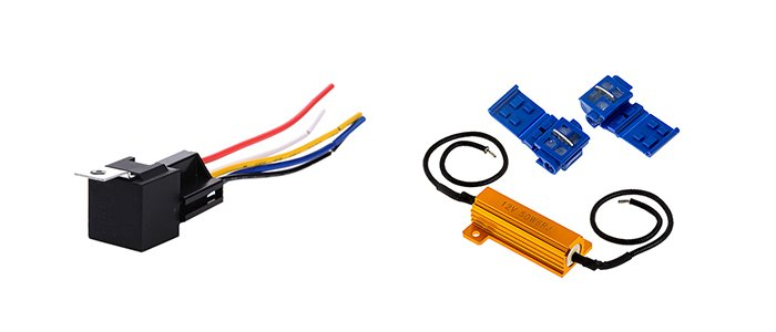 RECON Aftermarket relay resistor truck accessory