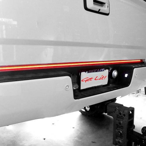"60"" White Lightning Tailgate LED Light Bar"