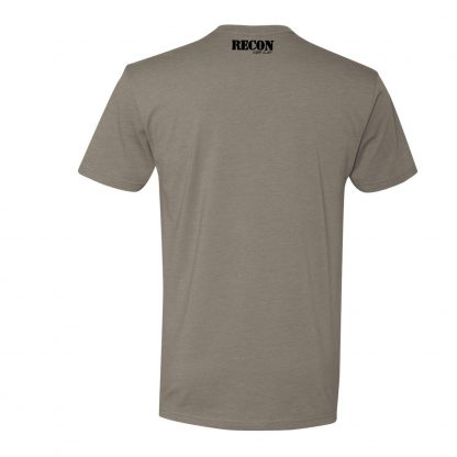 Short Sleeve Army Star - black and warm grey