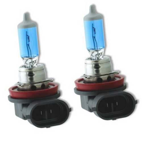9006 12V 55W Headlight Bulbs in Platinum Blue