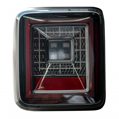 Image of Jeep JL Wrangler 18-19 (for Factory OEM Halogen) Tail Lights OLED Smoked