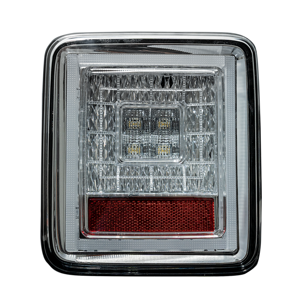 Image of Photo of Jeep JL Wrangler 18-19 for Factory OEM Halogen Tail Lights OLED Clear