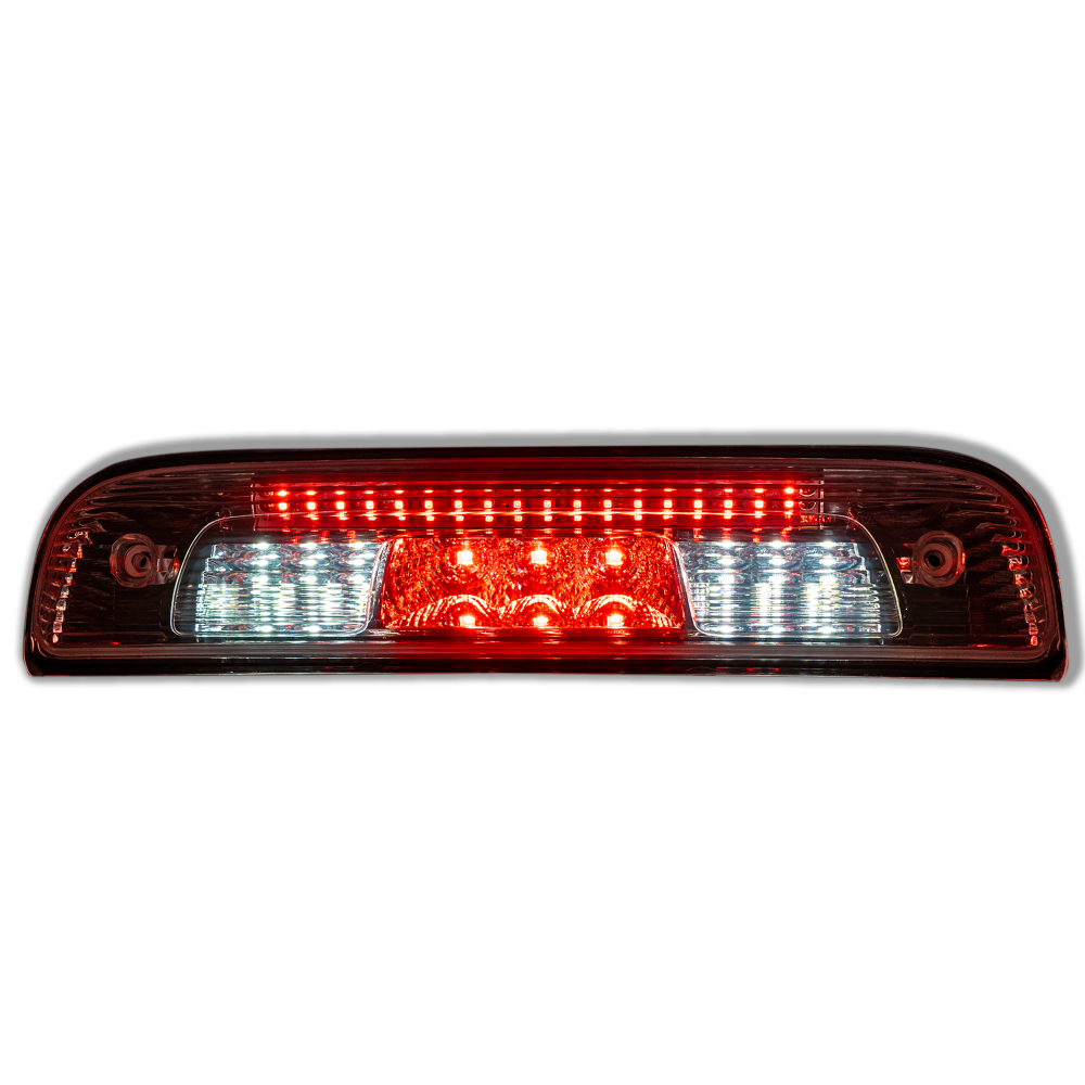 GMC Sierra & Chevy Silverado 44-18 LED 3rd Brake Light Kit CREE XML LED Clear