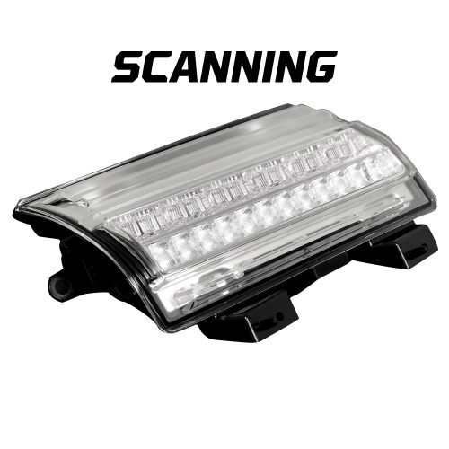Jeep JL Wrangler 18-20 (Replaces OEM LED) Fender Light OLED DRL Clear