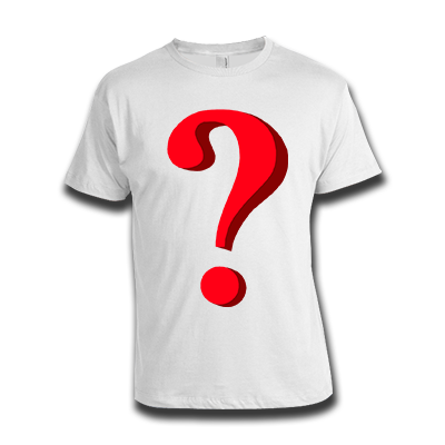 Mystery t-shirt - what could it be?