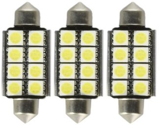 RECON 264164 Dodge Dome Light Set LED Replacement - Fits Dodge RAM 02-08 1500 & 03-09 2500/3500