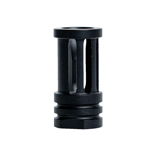 264CBBK105 - Interchangeable A2 Design Rifle Barrel Antenna Tip Flash Hider - This interchangeable flash hider barrel tip fits RECON Combat Antennas - BLACK