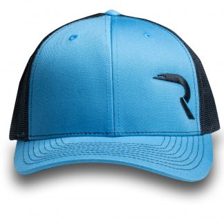 "RECON ""R"" Trucker Snapback Hat - Teal/Black"