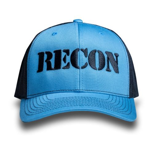 RECON Snapback Trucker Hat - Teal/Black