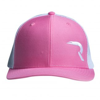 """RECON """"R"""" Snapback Hat – Pink / White"""